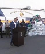 Incautan cantidades históricas de metanfetamina en el sur de California