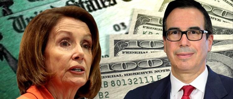 Nancy Pelosi y Casa Blanca se acercan más hacia un acuerdo de estímulo