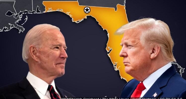 Duelo de mítines entre Trump y Biden en Florida