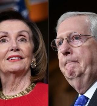 Pelosi insiste en paquete de estímulo, pero los republicanos resisten