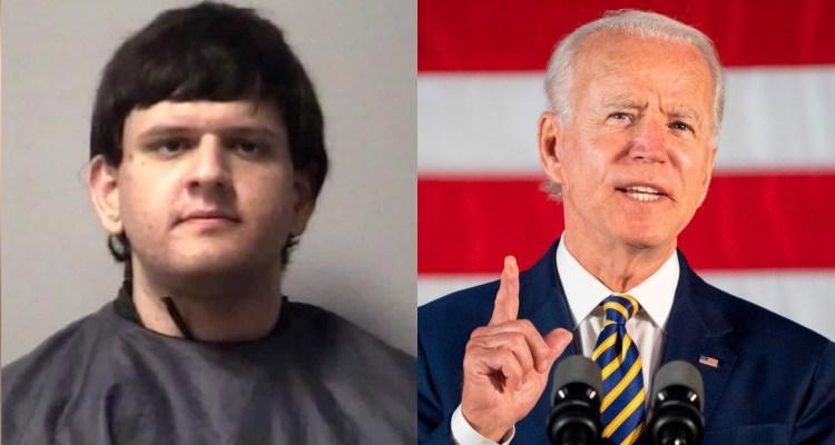 Hombre armado arrestado por pornografía infantil buscaba casa de Biden