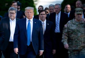 ¿Peligra la seguridad nacional tras diagnostico de covid de Trump?