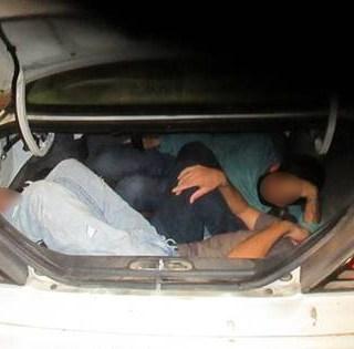 Agentes detienen 4 intentos de contrabando humano en 30 horas