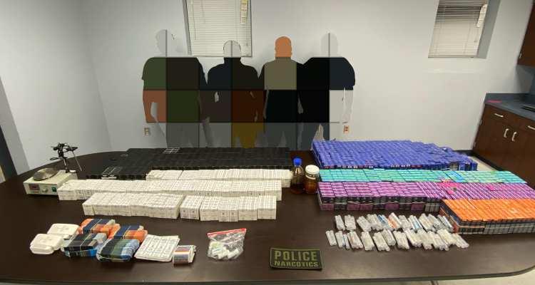 Arrestan a hombre de Mercedes por tráfico de drogas