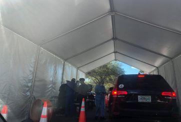Masiva afluencia genera cierre de centros de prueba COVID en Tampa