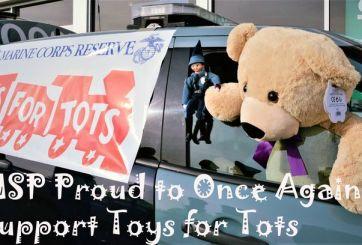 Policía Estatal invita a la comunidad a participar en 'Toys for Tots'