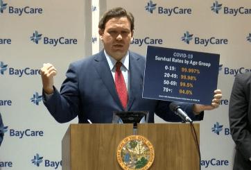 Alcaldes de Florida piden a DeSantis medidas urgentes ante el COVID-19