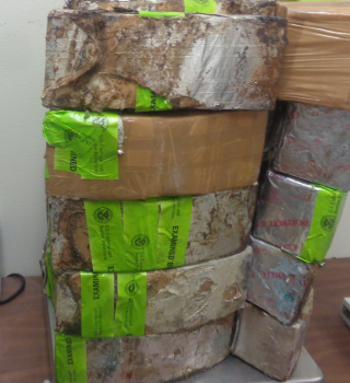 Confiscan más de 3 millon es en drogas en Pte. Int. Hidalgo