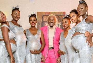 Hombre acude a boda de su amigo con sus 6 novias embarazadas