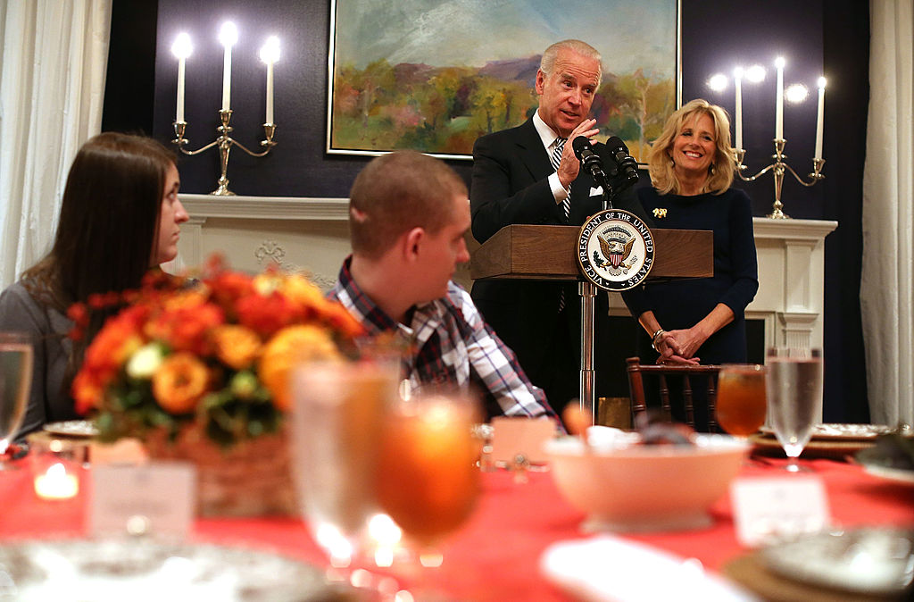 biden thanksgiving