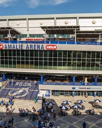 Amalie Arena Tampa Toronto Raptors