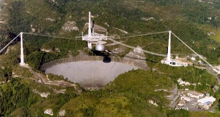Observatorio de Arecibo en Puerto Rico será demolido