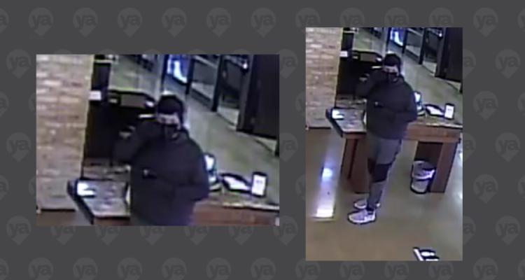 Arrestan a sospechoso de robo a banco en Harlingen