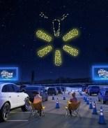 walmart drone light show
