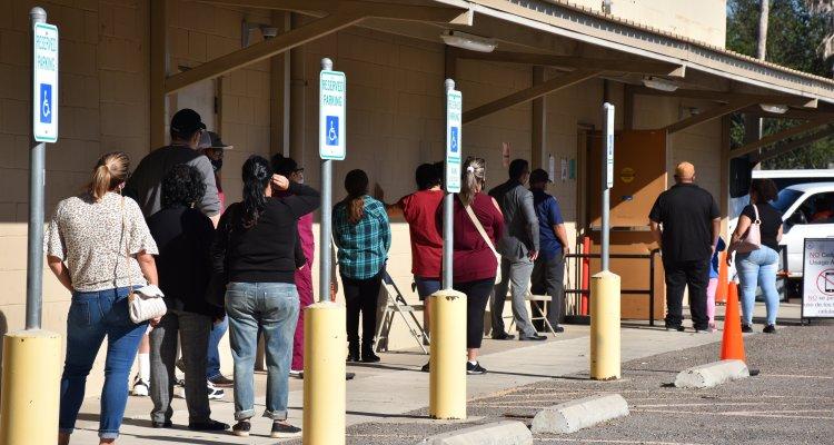 Extienden cierre de centros de votación del co. Hidalgo hasta las 8 pm