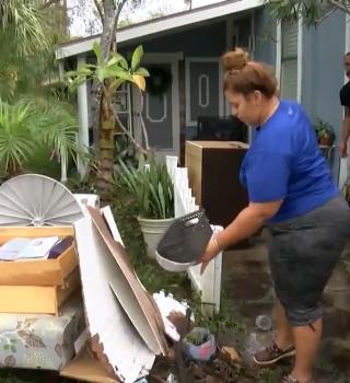 Tormenta Eta dejó a múltiples familias afectadas en la bahía de Tampa
