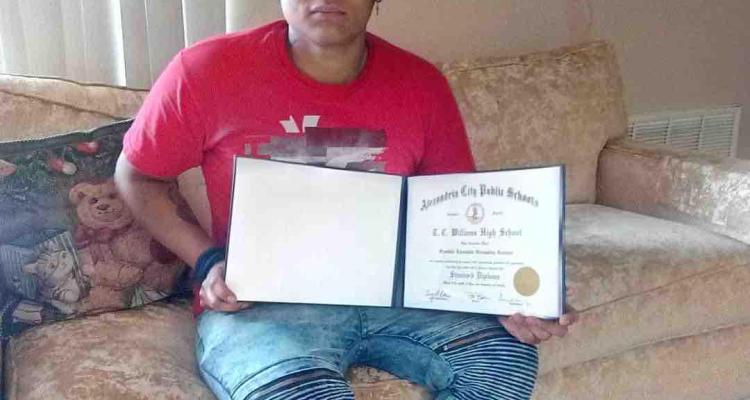 Colocan ofrenda en Georgetown donde asesinaron a joven salvadoreño