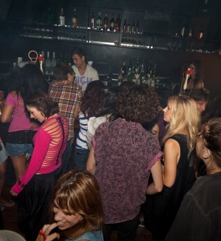 Foto de archivo de un bar