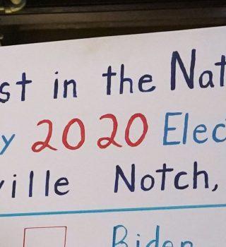 2 ciudades anunciaron los primeros resultados de las elecciones 2020