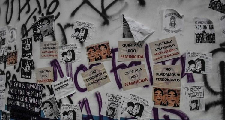 VIDEOS: Policía terminó a tiros marcha contra feminicidios en México