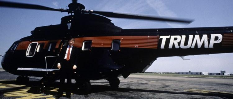 El helicóptero privado de Donald Trump está a la venta