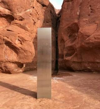 Monolito de Utah: Desaparece la extraña estructura encontrada en el desierto