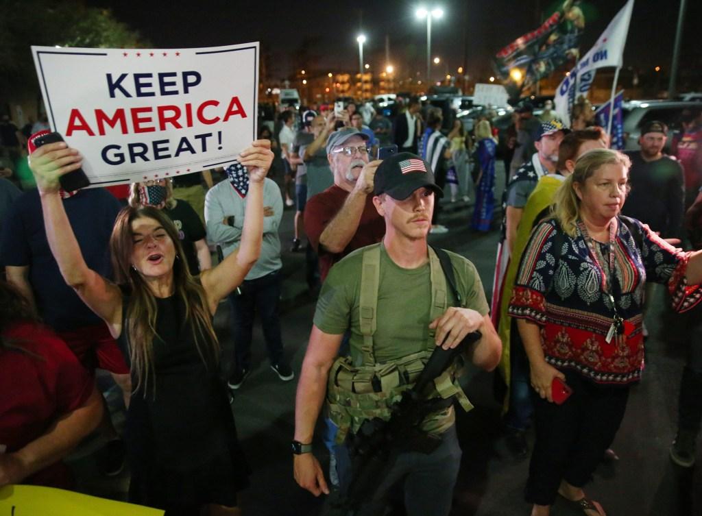 protestas MAGA