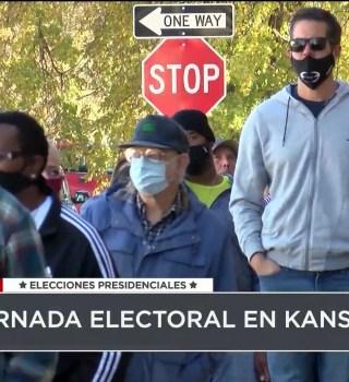 Tremenda participación de los votantes en Kansas