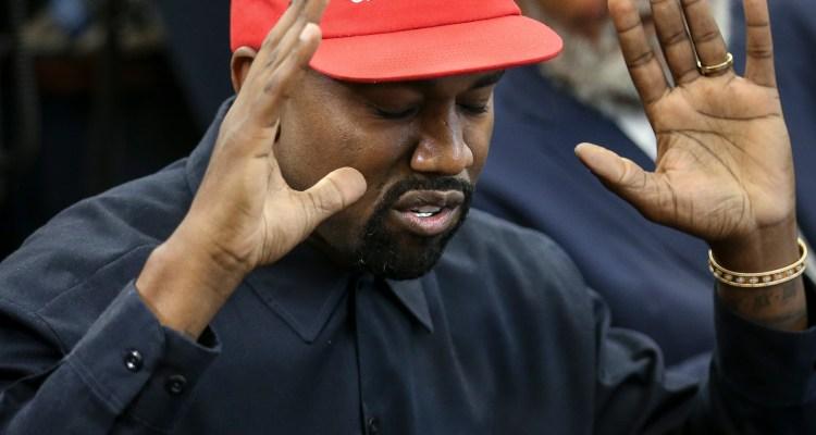 Kanye West vota por sí mismo en busca de la presidencia