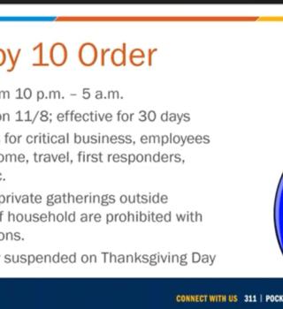 COVID-19: Denver ordena 30 días de toque de queda para mitigar contagios