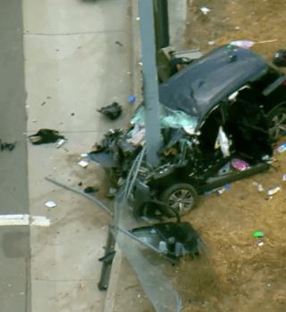 VIDEO: Mueren tres personas al estrellarse contra un poste en Oceanside