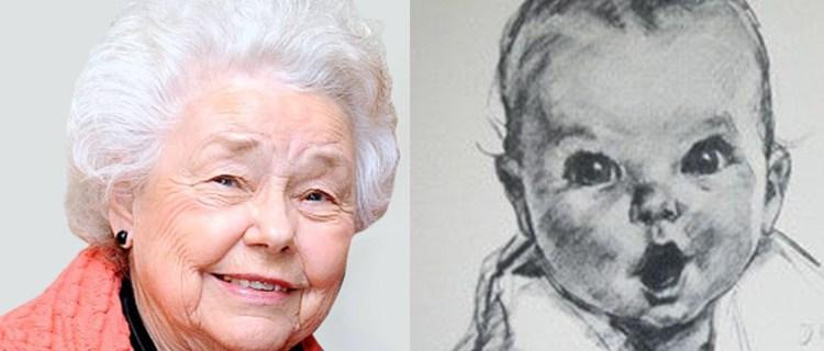 Primera bebé en ser imagen de Gerber cumple 94 años