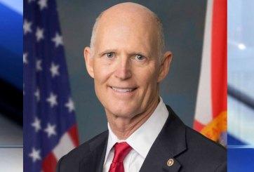 El senador y ex gobernador Rick Scott da positivo por COVID-19