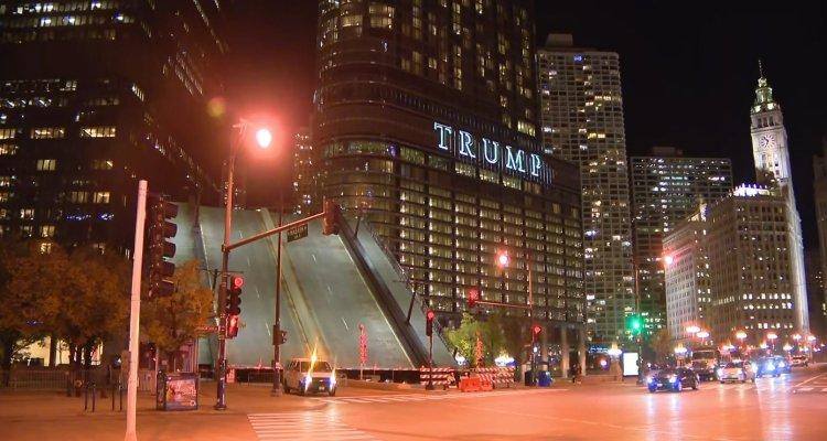 PROTESTAS CHICAGO WABASH