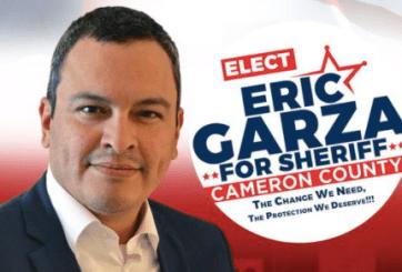 Eric Garza se proyecta como ganador a alguacil del co. Cameron