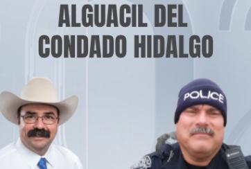 Declaraciones de candidatos al puesto de alguacil en co. Hidalgo