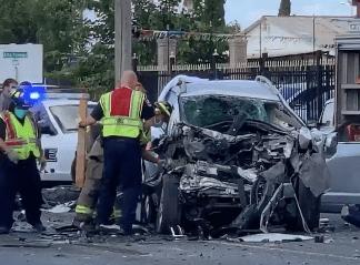 Dos personas mueren en accidente de tránsito en Brownsville