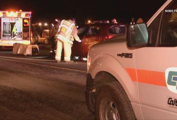 Trabajador de construcción muere al ser atropellado en Spring Valley