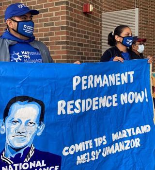 Caravana por la Justicia del TPS hizo llamado al voto desde Virginia