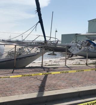 Autoridades de Pinellas evalúan daños causados por Tormenta Tropical Eta