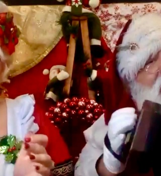 Este año a celebrar una navidad virtual con la familia Claus