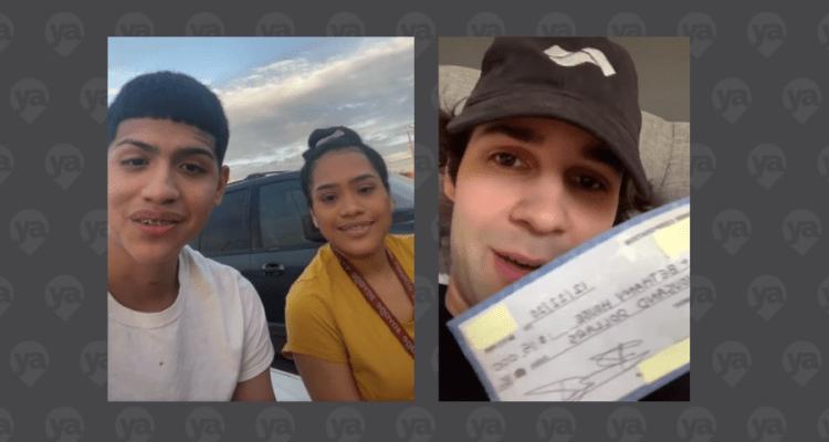 Famoso youtuber dona $15 mil a organización que ayuda a desamparados