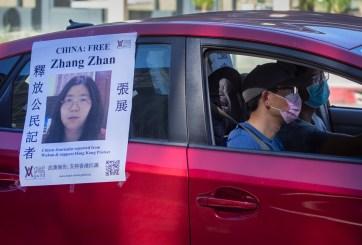 Periodista china condenada por informar sobre inicios de COVID en Wuhan