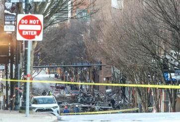 Cámara de policía captó momentos previos a la explosion de Nashville