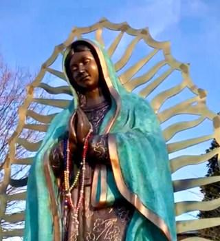Feligreses se adaptan para festejar a la Virgen de Guadalupe