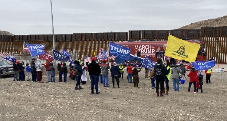 Movimiento Marcha por Tump llega a El Paso