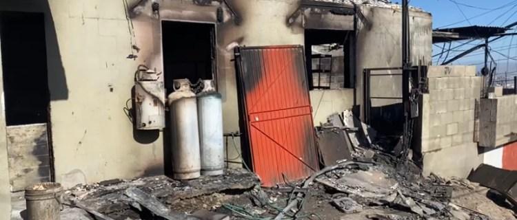 Ola de incendios en Tijuanadeja a más de 100 personas sin hogar