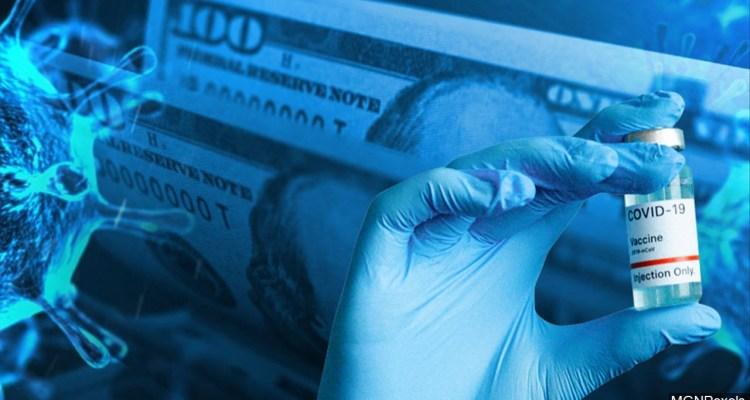 Proponen cheques de estímulo para los que se vacunen contra Covid