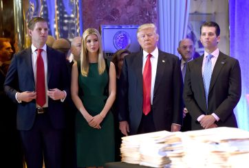Trump busca conceder «indultos preventivos» a sus hijos y yerno
