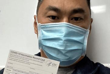 Enfermero da positivo por Covid tras recibir primera dosis de vacuna